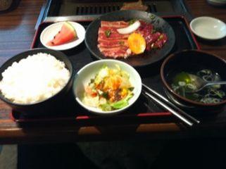 焼肉レストラン 安楽亭:ランチ
