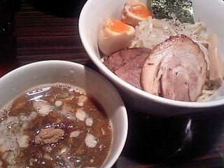 新橋:京鰹節つけ麺 愛宕(あたご)