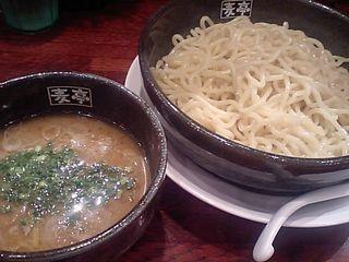 上板橋:つけ麺屋 麦亭