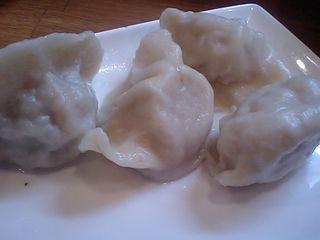 蘭州拉麺:水餃子
