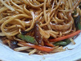 蘭州拉麺:蘭州焼そば