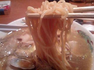 末廣ラーメン本舗:麺