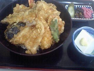 築地市場:天ぷら和食 天房